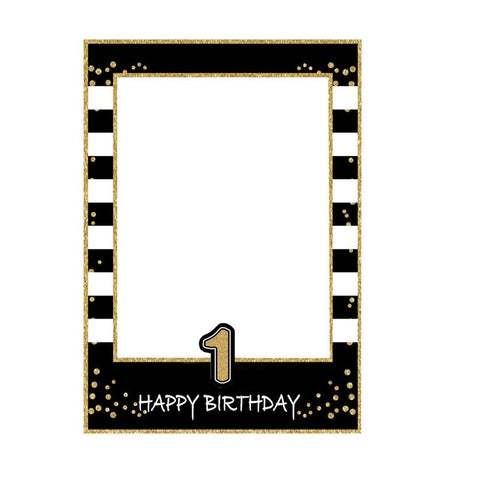 Birthday Photo Frame Prop Available for 1st, 16th, 21st, 30th, 35th, 40th, 50th and 60th