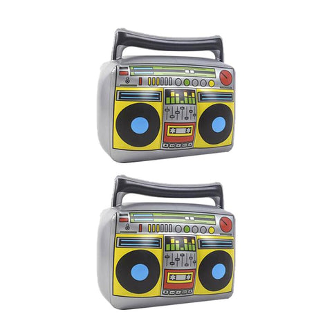 Radio Inflatable Decorative Outdoor Party Toy: 2 Piece