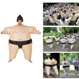 Inflatable Sumo Wrestler Blow-up Costume
