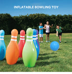 Big Bowling Ball Inflatable Party Game