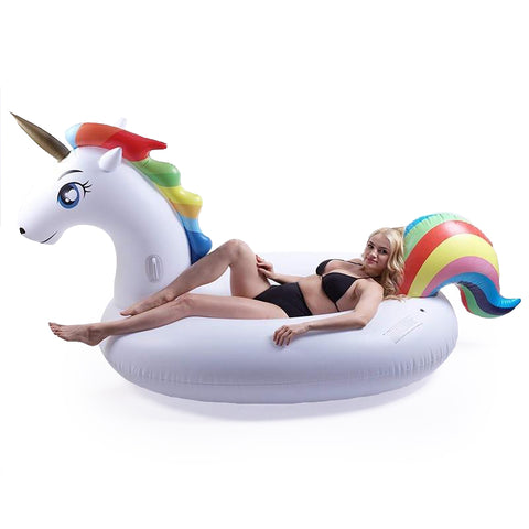 Giant Inflatable Unicorn Pool Party Float