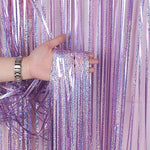 Rain Wall Curtain Party Decoration Backdrop