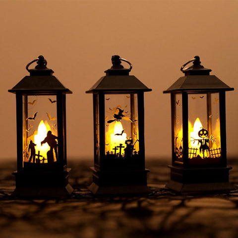 Electric Halloween Decoration Candle Lamp Lanterns