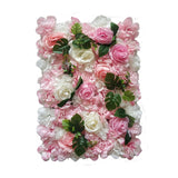 Flower Wall Silk Rose Backdrop