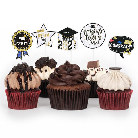 Graduation 2021 Cake Toppers
