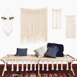Handmade Macrame Tapestry Backdrop Decoration