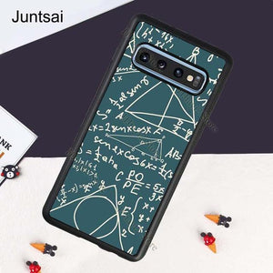 Brains Geek Science Math Physics Formula Case For Samsung