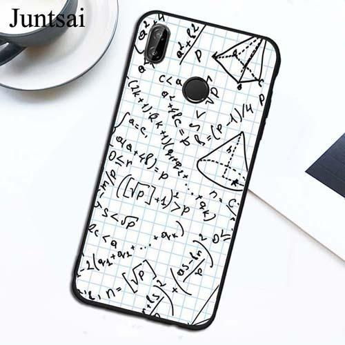Science Math Physics Formulas TPU Case For Xiaomi Redmi Note 9 7 8 Pro