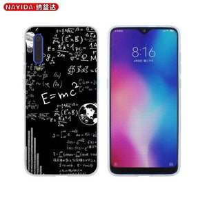 Phone Case For Xiaomi 9 8 Mi A1 A2 A3 lite F1 6 5X se For Redmi Note 8 7 6 Pro Cover Star mc2 with E=mc Math Albert