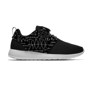 Mathematical Equation Formula Math Hot Funny Fashion Sport Running Shoes Lightweight Breathable 3D Print Men Women Mesh Sneakers