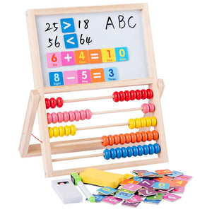 Mathematics Abacus Learning Frame Wooden Montessori Toys Counting Cognition Board Math Early Educational Toys For Children Gift