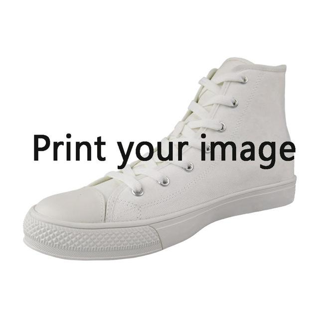 Nopersonality Cool Men's Vulcanize Shoes Classic Math Formula High Top Canvas Shoes Personalized Spring Autumn Men Sneakers