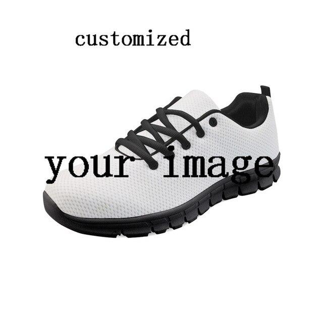 Nopersonality Classic Math Formula Print Sneakers for Men Personalized Male Student Lace Up Flats Lightweight Mesh Sneakers