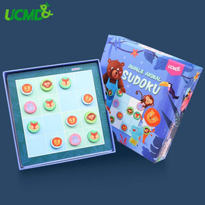 Sudoku Puzzle Game for Kids 1 To 9 Math Educational Toy For Children Logic Training