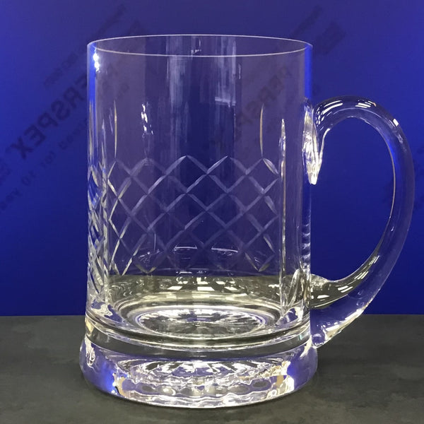 0.565ltr Handmade Panel Star Base Tankard