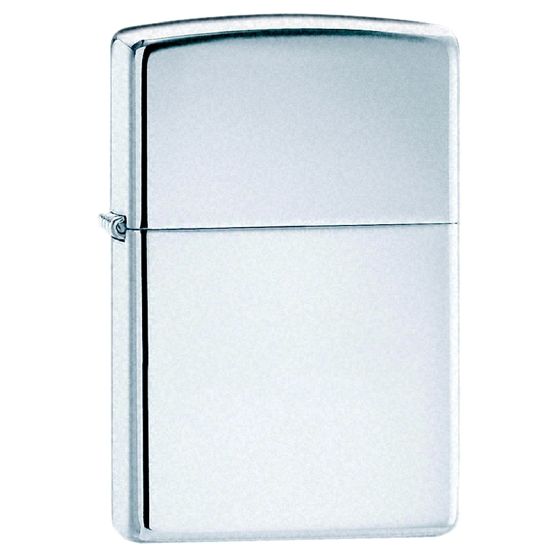 Zippo-High Polished Chrome
