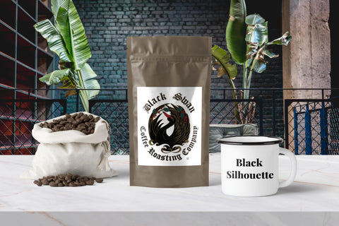 Black Silhouette Decaf