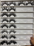 25 MM WHOLESALE EYELASHES (CUSTOM ORDERS ONLY)