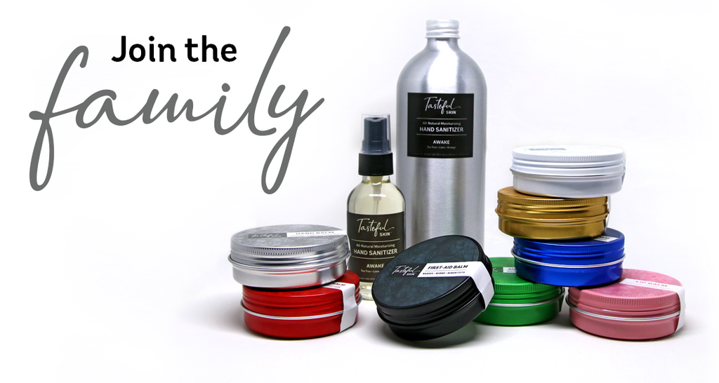 Sign up to wholesale Tasteful Skin™ products!