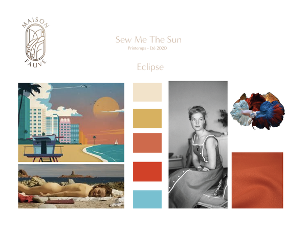 Sew me the Sun, les moodboards...let the sunshine in !