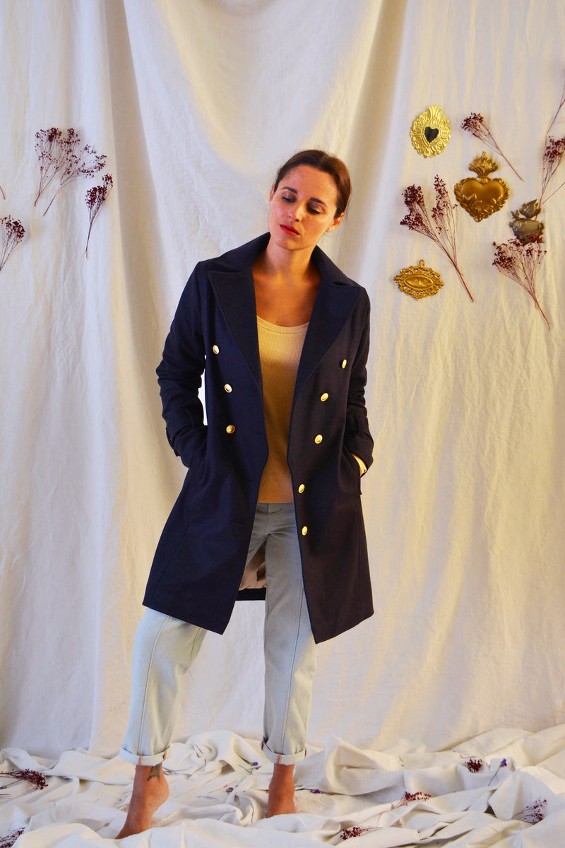Le manteau / trench Tsar