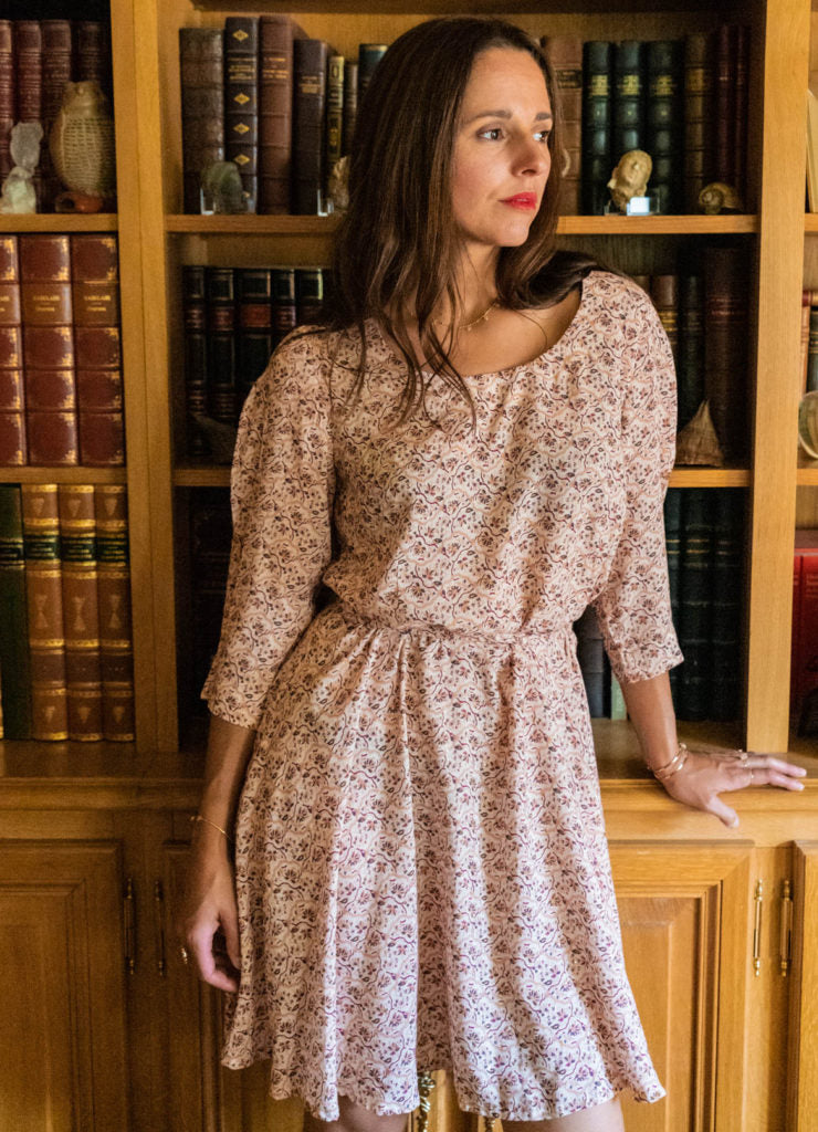 robe niki patron maison fauve collection sew me arty
