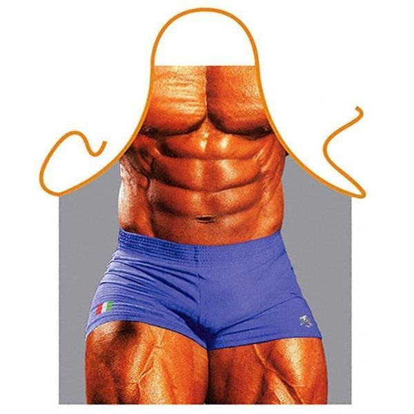 Tablier Humoristique <br> Mr Muscle