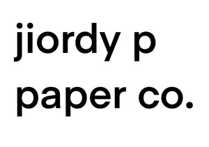 jiordy p paper co