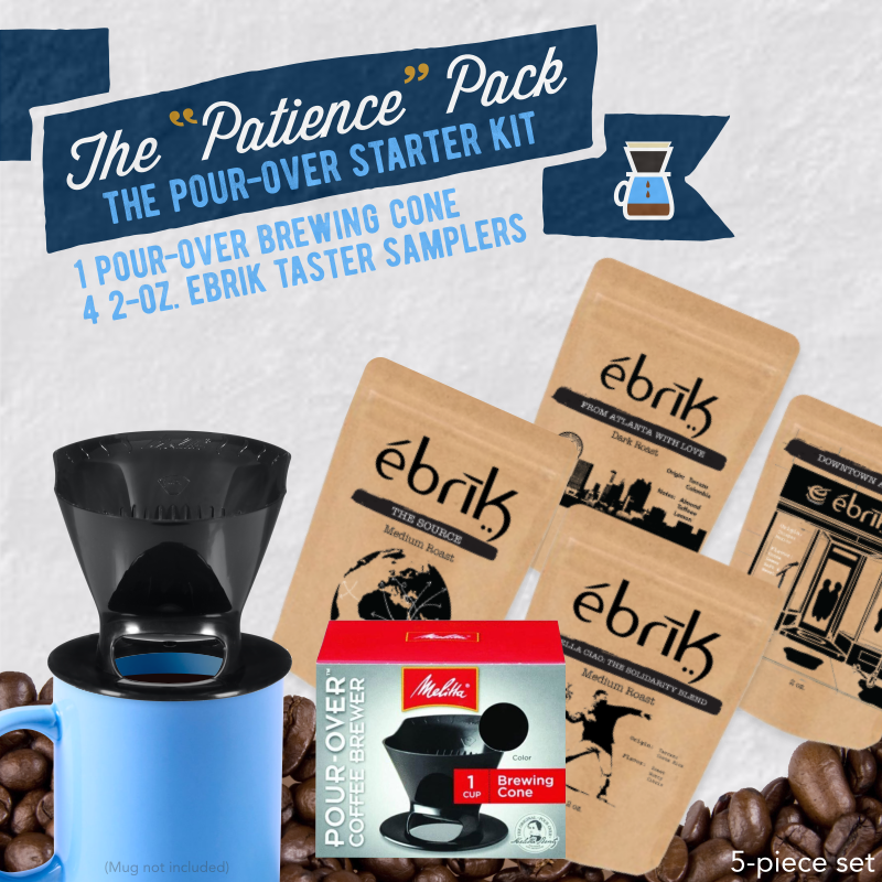 "The ""Patience"" Pack: Pour-Over Starter Kit"