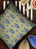 ECRU JEWEL CUSHION COVER