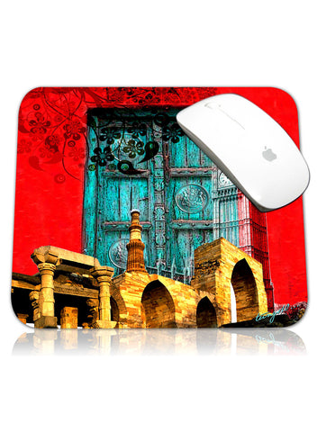 DELHI TO LONDON MOUSE PAD