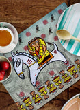 LADY WARRIOR TABLEMATS