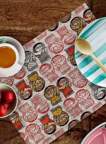 RURAL INDIA TABLEMATS