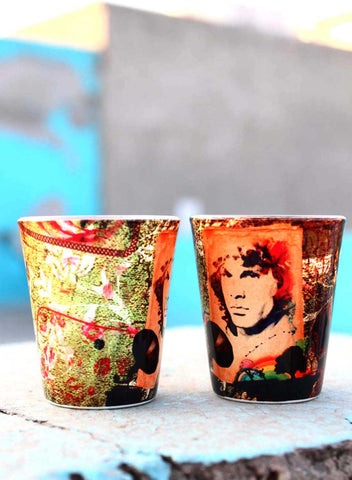 JIM MORRISON SHOT GLASSES