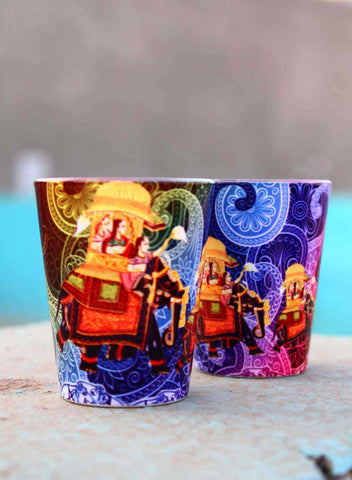 PAISLEY FUSION SHOT GLASSES
