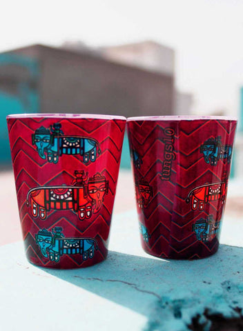 TALE OF MAHAVATS SHOT GLASSES