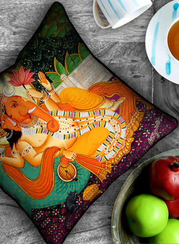 LORD GANESHA CUSHION COVER