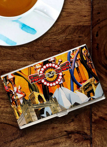 DELHI TO LONDON FUSION CARD HOLDER