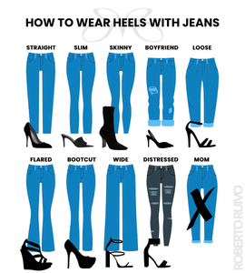 How to wear heels with jeans I Roberto Ruivo