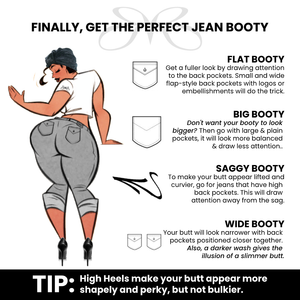 Finally, get the perfect jean Booty I Roberto Ruivo