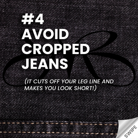 Heels and Jeans rule - Avoid Cropped Jeans - Roberto Ruivo