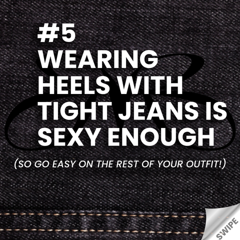 Heels and Jeans rule - Wearing heels with tight jeans is sexy enough - Roberto Ruivo