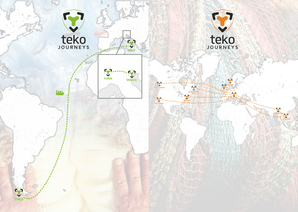 Teko Socks Journeys | from sheep to foot