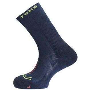 2x Teko Discovery Light Cushion Merino Multi-Activity Socks - Storm