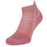 2x Teko Ultralight Women's Hiking Sock - Coral