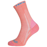 2x Teko Infinity Women's Hiking Socks - Coral - Size Small only - CLEARANCE