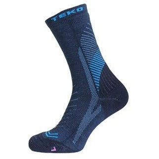 2x Teko Infinity Women's Hiking Socks - Storm