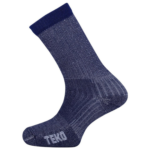 Teko Merino Light-Hiking Socks Light Cushion Blue