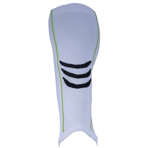2x Teko Compression Sleeves - White