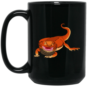 15 oz. Black Mug - Shambhala Reptile Supplies